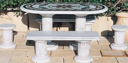 Mesas jardín- Mesas, conjuntos mesa y barbacoas para jardín e ...