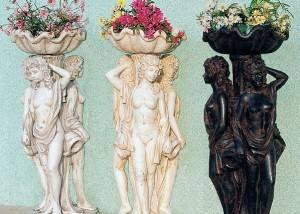 Estatuas de piedra para jardín