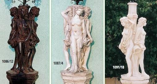 Elementos decorativos para jard n fabricantes productos de piedra - Farolas de jardin ...