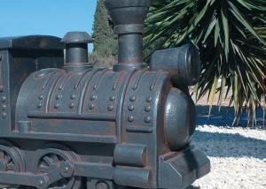 La locomotora de piedra