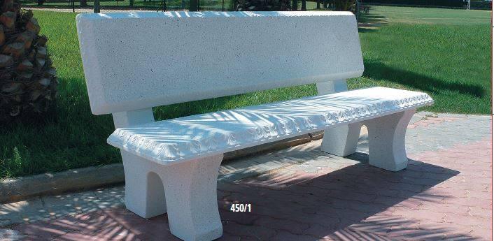 Bancos de piedra mobiliario urbano for Jardin urbano valencia