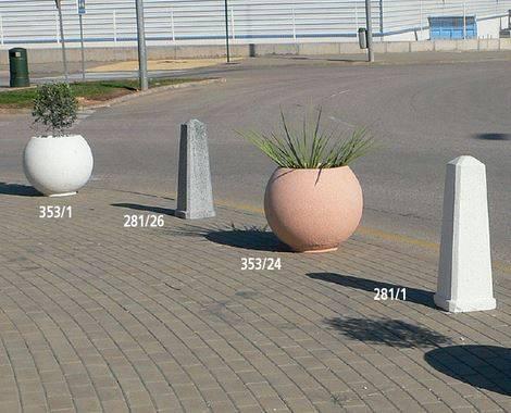 Fabricación mobiliario urbano
