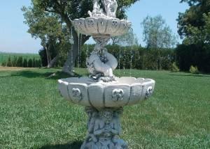 Fuente para jardin de piedra Neptuno G
