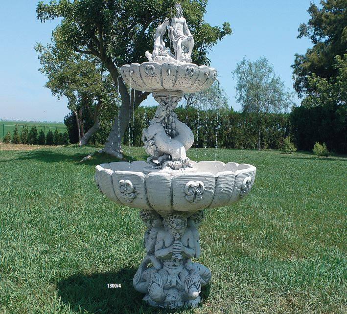 Fuentes de jard n modernas fuentes de piedra para jard n for Fuentes decorativas de interior