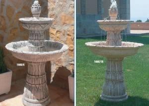 Fuente de piedra con Encanto