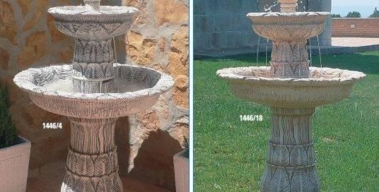 Fuentes de piedra para jard n y fuentes urbanas y decorativas for Fuentes decorativas