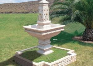 Fuente de piedra 4 Caños