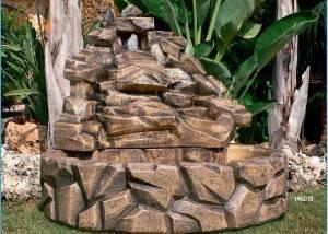 Fuente de piedra y Rocas