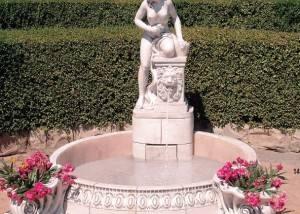 Fuente de jardín Atenea