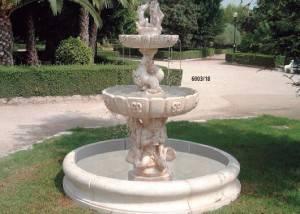 Fuente de piedra Neptuno