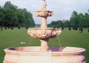 Fuente de agua para jardín
