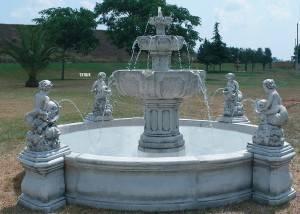 Fuente de piedra Medieval