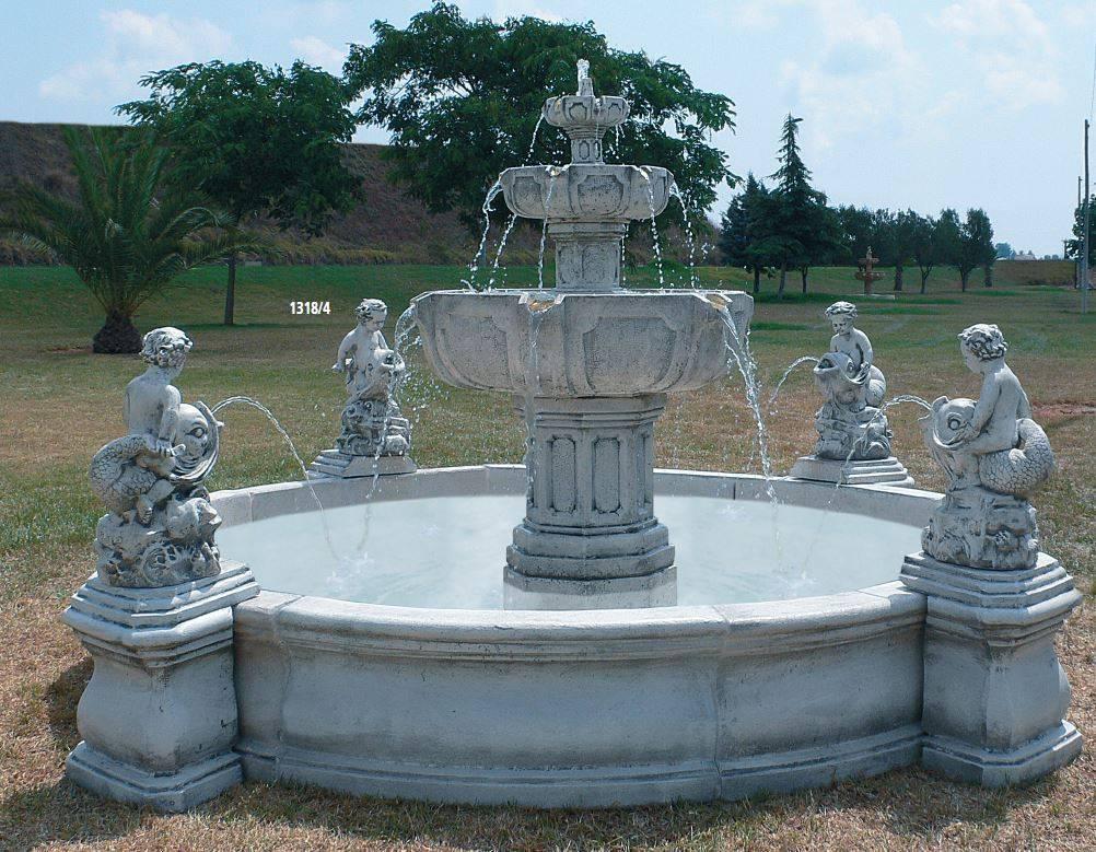 Fuentes con estanque archivos artehispano for Fuente estanque jardin