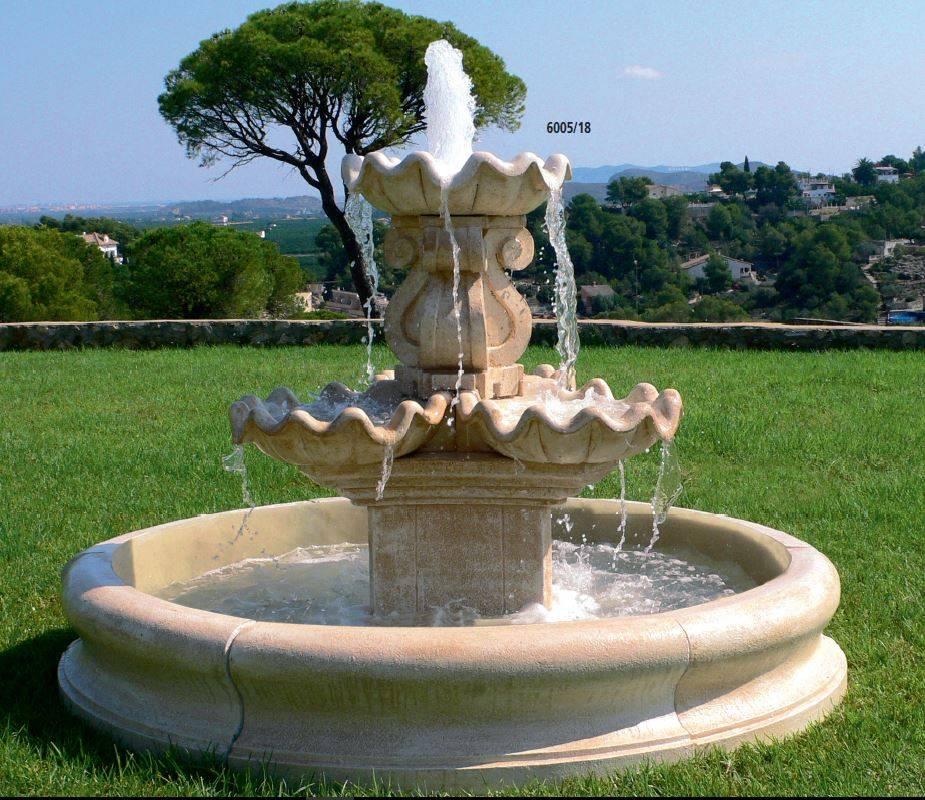 Fuentes de piedra para jard n y fuentes urbanas y decorativas for Jardin fuente de piedra