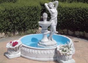Fuente decorativa para jardín